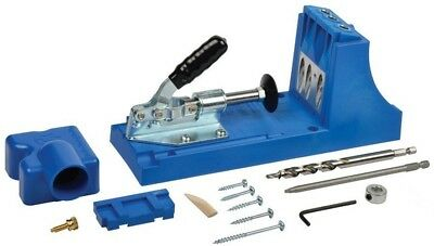 Kreg Jig Hole kit Joinery Carpentry Tools Drill Guide Workbench New