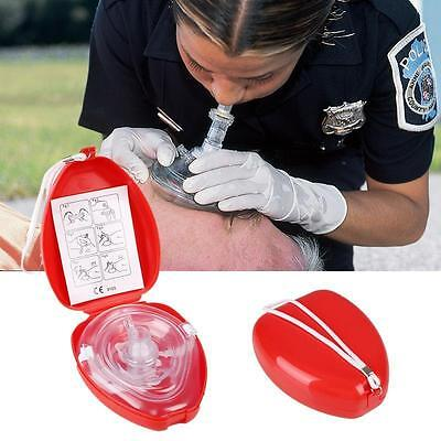 Adult&Kids CPR Pocket Resuscitator Rescue Mask Face-Mask Fist Aids Protable WS9