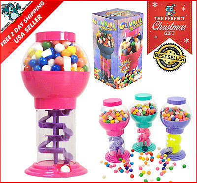 NEW Classic Vintage Double Bubble Gum Machine Bank Candy Dispenser Gumball
