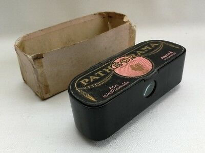 Vintage 1920s Art Deco French Wooden Patheorama Pathe Film Slide Viewer