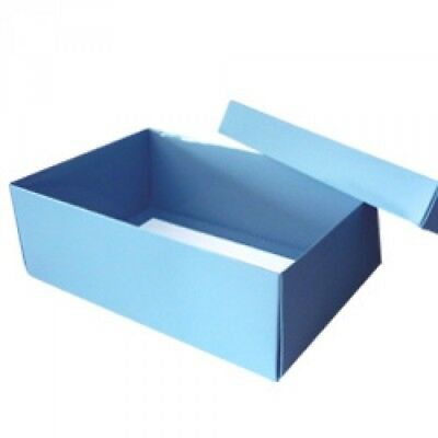 Gift Box with Lift off Lid - available in Blue, Cocoa, Gold, Pink and Silver
