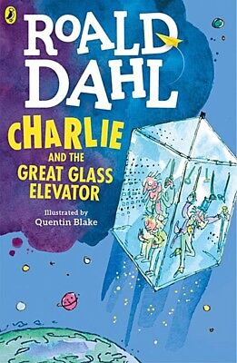 Charlie and the Great Glass Elevator by Roald Dahl (Paperback, 2016) [NEW]