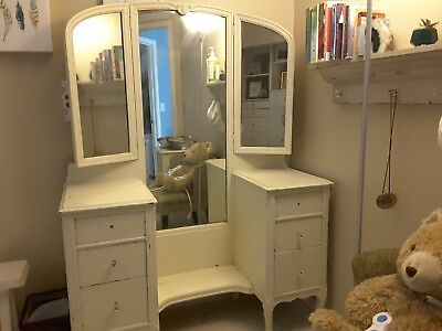 Antique Mirror Vanity