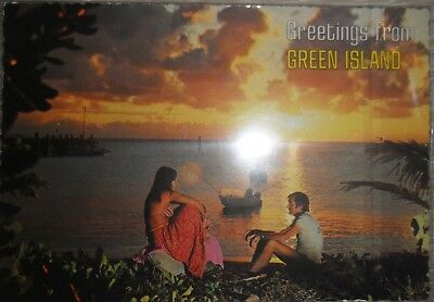 Postcard - Greetings from Green Island