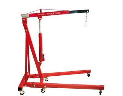 Engine Crane 2 Ton Lift Foldable Heavy Duty Folding Hydraulic Workshop Crane