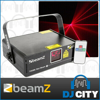 Beamz Thebe Red DJ Party Effect Laser 150mW w/ IR Remote & DMX Control