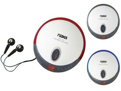 Naxa NPC-319 Personal Compact Slim CD Player +LCD Display +Earphones