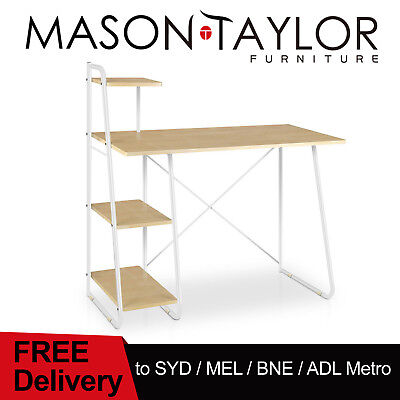 FREE DELIVERY(T&C) Study Desk w/ Book Shelf Storage Corner Computer Table AU