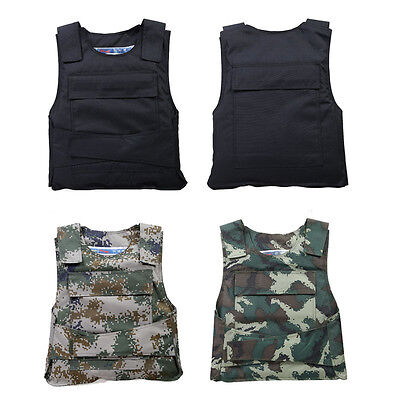 Outdoor CS Game Molle Tactical Vest Hunting Combat Light Body Protective Vest