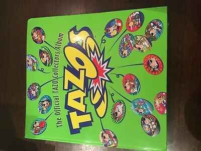 Tazo folder with FULL SET Good condition 1990's