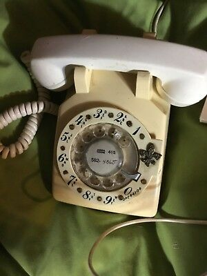 Vintage Rotary Dial Phone Bell System Western Electric unusual design