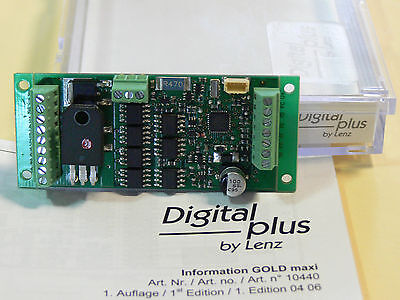 NEW G SCALE LENZ GOLD Maxi DCC  3amp/5 amp peak decoder.