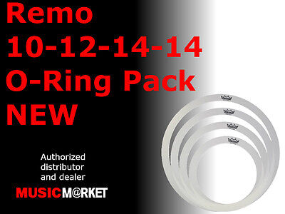 Remo 10-12-14-14 Rem-O-Ring Pack NEW