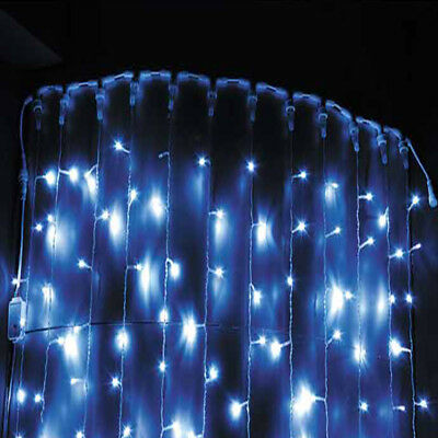 5M 216 LED Icicle Hanging Curtain Fairy String Lights Christmas Outdoor Decor AU