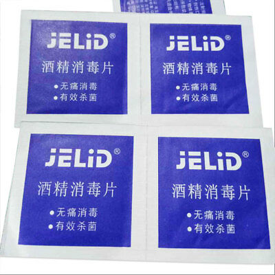 Portable Alcohol Swabs Pads Disinfection Antiseptic Cleaning First Aid Home
