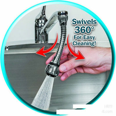 Flexible 360° Hands Faucet Swivel Spray Sink Hose Faucet Spray kitchen tool KY