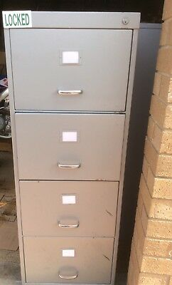 C Class Security Container, 4 Drawer Filing Cabinet