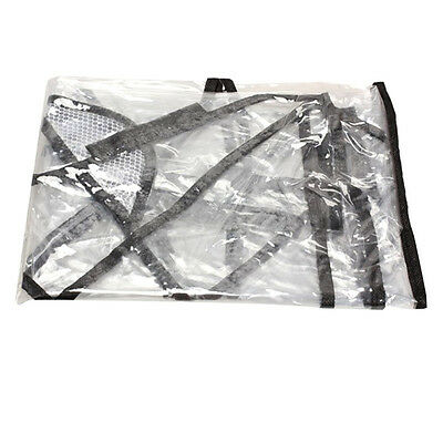 1pc Waterproof Rain Cover Wind Dust Shield For Baby Strollers Pushchairs