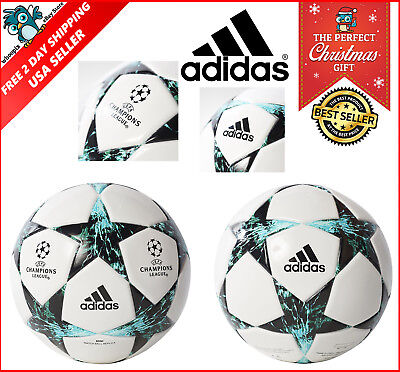 Soccer Ball Adidas Match Performance Champions League White Official Size 5 New