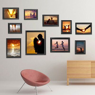 WOLTU 10-Piece Photo Frame Set Hanging Picture Modern Decor Gallery Wall Art