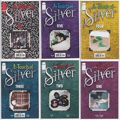 Image Comics: A Touch of Silver 8 comic books includes #1 2 4 5 6 run full lot