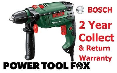 - new - Bosch PSB 650 RE Compact Corded IMPACT DRILL 0603128070 3165140512374 #V