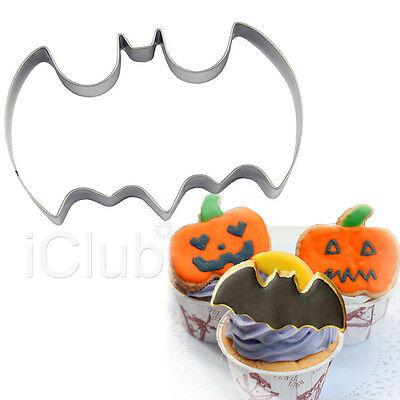 Stainless Steel Batman Biscuit Cookie Pastry Fondant Mold Cutter Cake Halloween