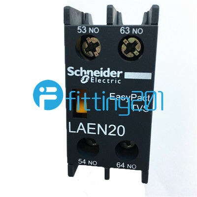 New Schneider LAEN20N Relay Contactor Auxiliary Contact in box 1PCS