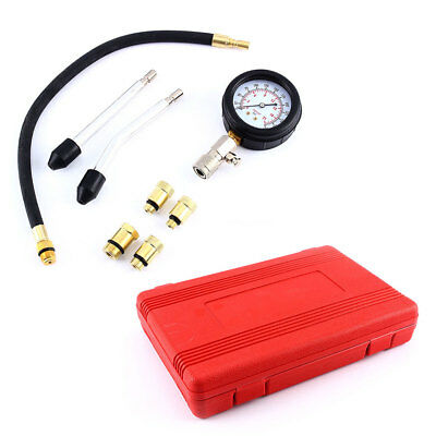 Engine Oil Pressure Test Tester Set Kit Low Oil Warning Devices Car Van Tool UK