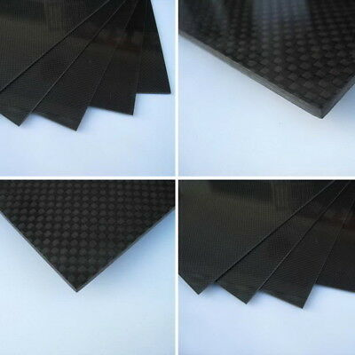 200×300×3mm With 100% Real Carbon Fiber plate panel sheet 3K plain weave YP