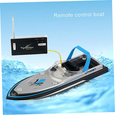 Portable Micro Radio RC Control Super High Speed Electric Racing Boat Toys YP