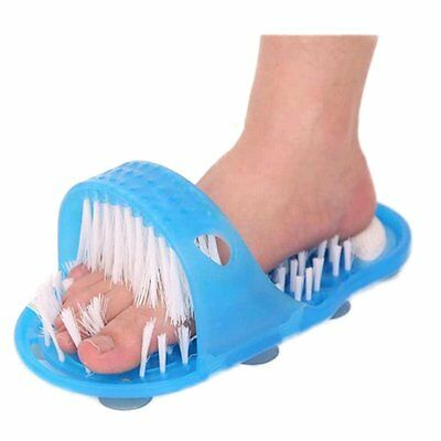 Foot Feet Cleaner Scrubber Washer Foot Health Care Stone Massager Slipper YP
