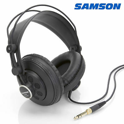 Samson SR850 Professional Studio Reference Open Back Headphones DJ Music Monitor