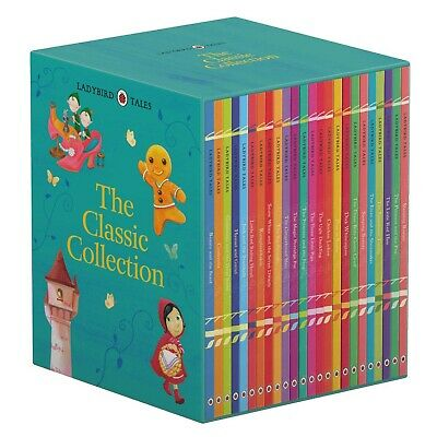 Ladybird Tales Classic Collection 22 Books Box Set Children Books Gift Pack