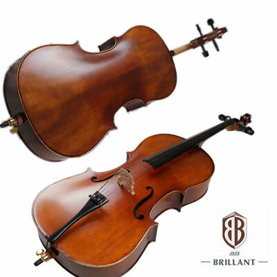 BRILLANT Student II 1/2 Cello Outfit with Bag, Bow and Rosin
