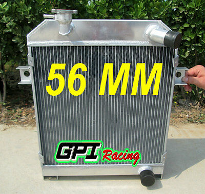 56MM Aluminum Alloy Radiator Fit JAGUAR MK2/MK II MT 1959-1967 60 61 62