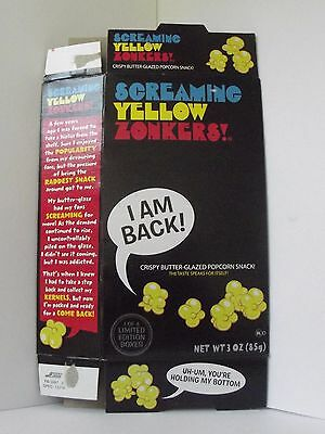 Retro Screaming Yellow Zonkers 2012 re-release Neat Box Only I'm Back!