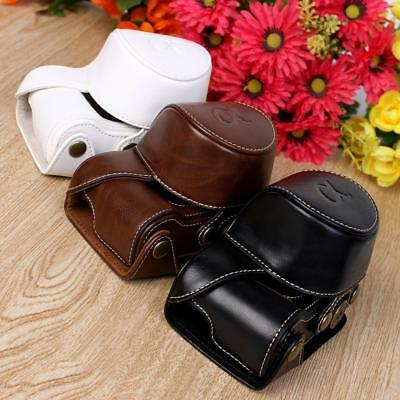 New Stylish  PU leather Camera Bag Case Cover Pouch For Sony A5000 A5100 NEX 3N