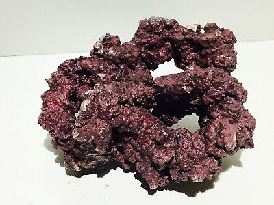 Aquarium Marine Reef Rock - Dry Live Rock - Aquascape - Coral - Reefrock Purple
