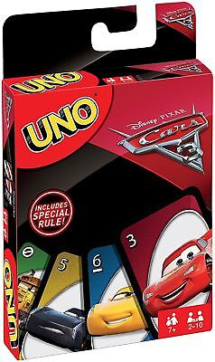 Mattel Uno Card Game - Cars 3
