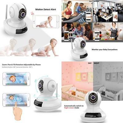 Baby Monitor Wireless Camera Night Vision Wifi Video Record Remote Motion Audio