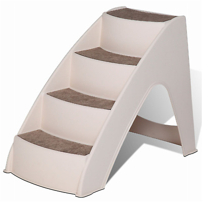 PupSTEP Lite Small Pet Stairs, Beige, One Size New