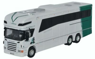 Scania Topline Horsebox Van A W Jenkinson  OO Oxford Die-cast 76SCA04HB  UK