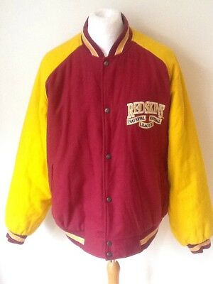 Washington Redskins Vintage Baseball NFL Jacket XL MENS