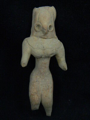 Ancient Teracotta Mother Goddess Indus Valley 2000 BC  #TR8148