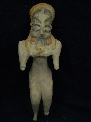 Ancient Large Size Teracotta Mother Goddess Indus Valley 2000 BC  #TR8165
