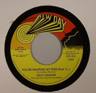 """GARNER, Billy - You're Wasting My Time Part 1&2 - Vinyl (limited 7"""")"""