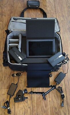 "smallHD 9"" DP1x 1280x768 in a pro-package that incl. sunhood and carrying case"