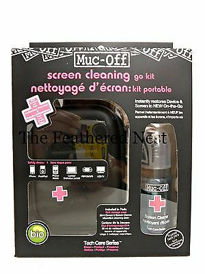 **Muc-Off  Screen cleaning go kit for ipads +  **FREE GIFT & FREE P+P**  WOW!**