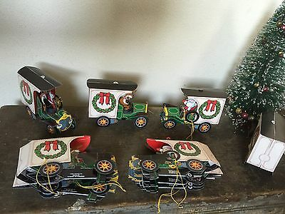 Retro Hess Pop Up Truck HOLIDAY XMAS CARD Ornaments Santa Toys Vtg